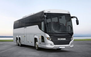 Economy Bus Rental in Etah