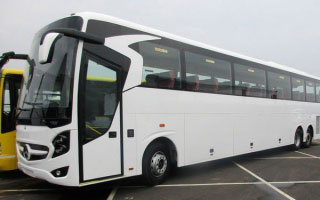 Mercedes Benz Coach Rental in Lucknow