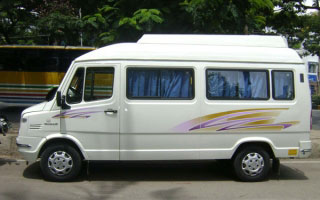 Tempo Traveller Rental in Etawah
