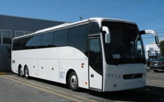 Volvo Coach Rental in Etawah